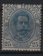1891-96 Umberto I 25 C. MNH - 1861-78 Victor Emmanuel II.