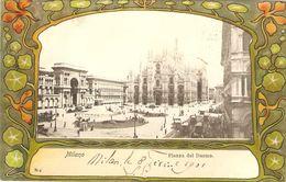 MILANO  ---   Piazza Del Duomo - Milano