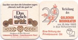 #D184-084 Viltje Brauerei Ott Schussenried - Sous-bocks