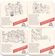 #D184-096 Reeks Viltjes Brauerei Ott Schussenried - Sous-bocks