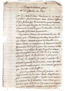 GAUTIER DU POËT.2 Pages 1/2 Manuscrites.Travail D'un Généalogiste Du 19e Siècle. - Documents Historiques