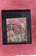 GREAT BRITAIN GRAN BRETAGNA 1902 1911 KING EDWARD VII ONE HALF PENNY 1 1/2p USATO USED OBLITERE' - 1902-1951 (Re)
