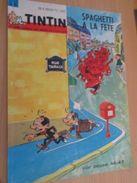 Page De Revue Des Années 60 : SUPERBE COUVERTURE DE LA REVUE  TINTIN : SPAGHETTI ET PROSCIUTTO - Livres, BD, Revues