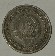 JUGOSLAVIA – 1 DINAR – 1965 – (181) - Jugoslavia