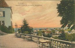 AK Kleve Cleve, Garten-Terrasse Im Hotel Prinzenhof, O 1910 (27892) - Kleve