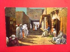 Une Rue De Village Du Sud 01936 - Algeria