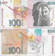 Slovenia 2003 - 100 Tolarjev - Pick 31 UNC - Slovenia