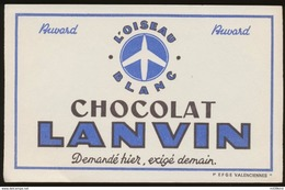 Buvard - Le Chocolat LANVIN - Chocolat