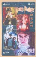 CHINA Telefonkarten  Puzzle - Film Harry Potter -siehe Scan - - Kino