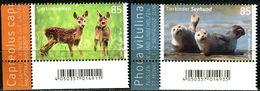 BRD - Michel 3352 / 3353 ECKE LIU - ** Postfrisch (K) - 85-85C  Tierkinder Reh Seehund, Ausgabe: 02.01.2018 - [7] Repubblica Federale