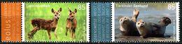BRD - Michel 3352 / 3353 - ** Postfrisch (N) - 85-85C  Tierkinder Reh Seehund, Ausgabe: 02.01.2018 - [7] West-Duitsland