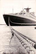 """PHOTO Du PAQUEBOT """" FRANCE """" ( """" NORWAY """") ( Compagnie Générale Transatlantique ) à Quais Dans Le Port Maritime Du HAVRE - Boats"""