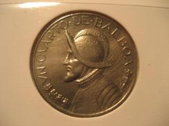 Un Cuarto De Balboa 1966 PANAMA Coin - Panama