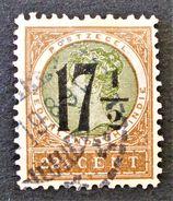 INDES NEERLANDAISES - SURCHARGE 1918 - OBLITERE - YT 123 - MI 130A - Niederländisch-Indien