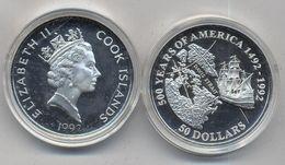 COOK IS, 50 DOLARES 1992 - Cook Islands