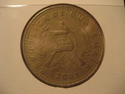 1 Quetzal 2001 GUATEMALA Coin - Guatemala