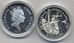 COOK IS, 50 DOLARES 1992 - Islas Cook