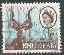 Rhodesia. 1966 Definitives. 3d Used SG 376 - Rhodesia (1964-1980)