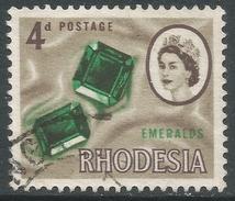 Rhodesia. 1966 Definitives. 4d Used SG 377 - Rhodesia (1964-1980)