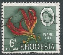 Rhodesia. 1966 Definitives. 6d Used SG 378 - Rhodesia (1964-1980)