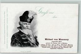 52287428 - Michael Von Muncascy Hut Feder Tracht Das Grosse Jahrhundert Serie F  No.227 - Altre Illustrazioni