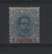 1900 Estero Levante La Canea 25 C. MNH - 11. Oficina De Extranjeros