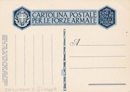 ITALIE :   Entier Postal Campagne D'Ethiopie  Neuf - Aethiopien