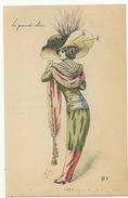 Mille Tres Belle Femme R8 Jupe Culotte Epingle à Chapeau Le Grand Chic - Mille