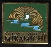 Pins / Cities / Miramichi / New Branswick / Canada - Administrations