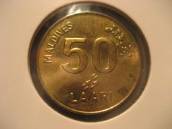 50 Laari 2008 Turtle MALDIVES Coin - Maldives