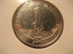 1 Rufiyaa 2012 MALDIVES Coin - Maldives