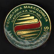 Pins / Police / Custom / Macedonia - Police