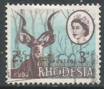Rhodesia. 1967-68 Dual Currency. 3d/2½c Used SG 408 - Rhodesia (1964-1980)