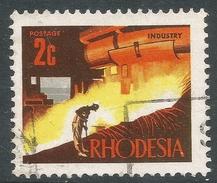 Rhodesia. 1970-73 Decimal Currency. 2c Used SG 440 - Rhodesia (1964-1980)