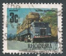 Rhodesia. 1970-73 Decimal Currency. 3c Used SG 441c - Rhodesia (1964-1980)