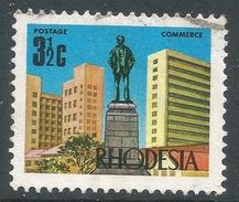 Rhodesia. 1970-73 Decimal Currency. 3½c Used SG 442 - Rhodesia (1964-1980)