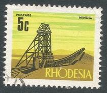 Rhodesia. 1970-73 Decimal Currency. 5c Used SG 443 - Rhodesia (1964-1980)