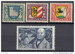 SCHWEIZ  241-244, Postfrisch **, Pro Juventute 1930 - Pro Juventute
