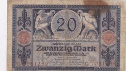Reichsbanknote 1915 - 20 Mark