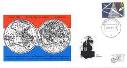 Enkhuizen Nr. 15 - 1988 - Blanco / Open Klep - Period 1980-... (Beatrix)