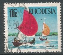 Rhodesia. 1970-73 Decimal Currency. 10c Used SG 445 - Rhodesia (1964-1980)