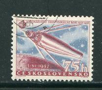 TCHECOSLOVAQUIE- Y&T N°941- Oblitéré (espace) - Tchécoslovaquie