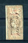 Timbre Fiscal  Napoleon, 4 Francs Effet De Commerce 1864, #38 - Fiscale Zegels