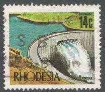 Rhodesia. 1970-73 Decimal Currency. 14c Used SG 446d - Rhodesia (1964-1980)