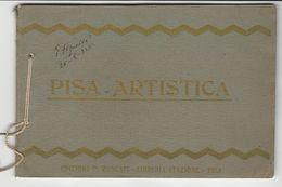 Booklet (19x12.5cm) * Pisa-Artistica * Edizione P. Roncati * Italy * 20 Photo Prints - Photographie