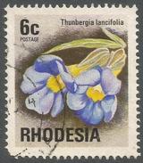 Rhodesia. 1974 Antelopes, Wild Flowers & Butterflies. 6c Used SG 494 - Rhodesia (1964-1980)