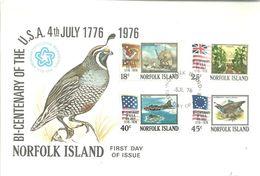 FDC 1976 - Norfolk Island