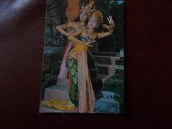 B673  Indonesia Donne Che Ballano Viaggiata - Indonesia