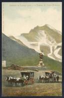 Chile. *Pasando La Cumbre Junto A La Estatua De Cristo Redentor* Ed. J. Altar Nº 27. Nueva. - Chile