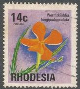 Rhodesia. 1974 Antelopes, Wild Flowers & Butterflies. 14c Used SG 500 - Rhodesia (1964-1980)